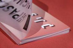 PASCAL QUIGNARD 書禎設計 不同材質相互重疊,重新構築字體達到全新的視覺感受。