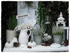 Shabby country house: After all that--. decoration entrance area outside Shabby L- . - Shabby country house: After all that–. decor entrance area outside Shabby L- d - Shabby Chic Fall, Shabby Chic Theme, Shabby Chic Living Room, Shabby Chic Kitchen, Shabby Chic Style, Shabby Chic Furniture, Living Room Decor, Shabby Look, Kitchen Rugs And Mats