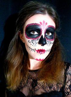 Sugar Skull - Tête de mort mexicaine - Maquillage Halloween