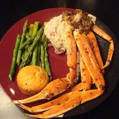 Crab Legs with Garlic Butter Sauce Recipe
