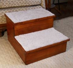 Furniture grade double pet step made in the USA