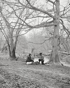 Bull Run, Virginia, winter 1862-63. Ruins of railroad bridge at Blackburns Ford. From photographs of the main Eastern theater of the war, Second Battle of Bull Run (Battle of Second Manassas).