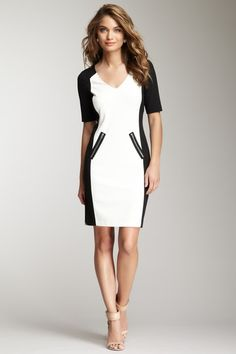 Colorblock Dress by Rebecca Taylor on @HauteLook