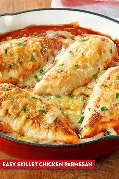 Campbells Soup Recipes, Crockpot Recipes, Cooking Recipes, Chicken Parmesan Recipes, Supper Recipes, One Pot Meals, Food Dishes, Italian Recipes, Good Food