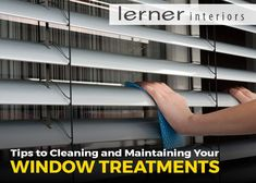 Tips to Cleaning and Maintaining Your Window Treatments - Toronto Window Treatments Deep Cleaning, Window Treatments, Investing, At Least, Windows, Interior, Tips, Advice, Design Interiors