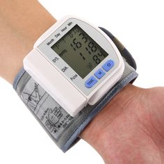 Buy CHANGKUN Portable Automatic Digital Storage Memory Instant Read Heart Rate Wrist Blood Pressure Monitor - White - and More Household Health Monitors up to off.