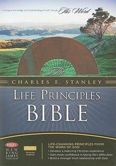 Another good study Bible.by Dr. Charles Stanley -- i have this and love it ~ Christian Films, Christian Quotes, Best Study Bible, Life Application Study Bible, Faith Moves Mountains, Charles Stanley, Nonfiction Books, Great Books, Word Of God