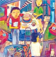 Image result for yau bee ling Family Portraits, Bee, Pictures, Painting, Image, Celebrations, Family Posing, Photos, Photo Illustration