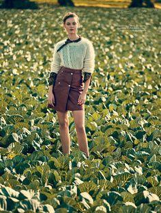 Frida Gustavsson by Andreas Sjodin for Elle Sweden August 2015 - RL
