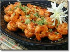Why eat out at a Chinese restaurant when you can try these easy step by step Chinese food recipes at the comfort of your own home. Enjoy these tasty Chinese food recipes! Spicy Shrimp Recipes, Seafood Recipes, Beef Recipes, Cooking Recipes, What's Cooking, Restaurant Recipes, Yummy Recipes, Healthy Recipes, Szechuan Recipes