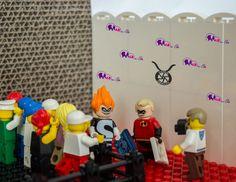 #Lego #Disney #Minifigures - Fotostrecke, Checkliste - wie man die Figuren ertasten kann. #photo #series #checklist #mr #incredible #syndrome
