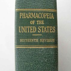 The Pharmacopeia Of The United States Of America by nightreaders, $15.00