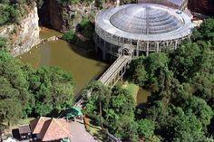 Ópera de Arame, Curitiba, Paraná, #Brazil.