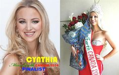 Cynthia Loewen crowned Miss Earth Canada 2014