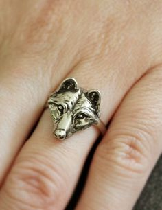 """Ha!  Look what I found a pic of!  And the caption said """"Wolf Ring"""" so there Kylie! :p"""