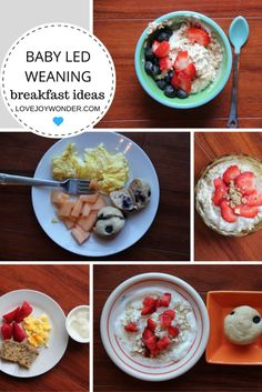 LoveJoyWonder.com - Baby Led Weaning and Toddler Breakfast Meal Ideas and…