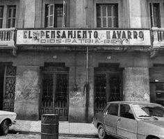 El Pensamiento. Pamplona, Vintage Photos, World, Old Photography, Castles, Street, Military, Cities, Fotografia