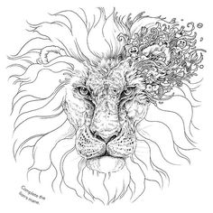 Coloring like you haven't seen it before… Take a page from #Animorphia by @kerbyrosanes!