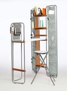 LYNKO by Natalia Geci - a collection of modular freestanding pieces that can fulfill all of your household needs.