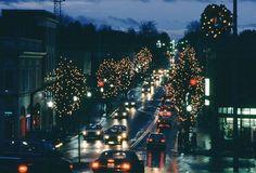 Blacksburg VA at Christmas