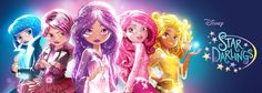 Disney Star Darlings Animated Web & Disney Channel TV Series on Youtube & Watch Disney Channel App.