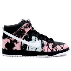 premium selection 092ac 4b189 Outlet 2018 NIKE dunk high pro sb unkle Womens Hightops Shoes Black Pink  Cheap ,Shopping Online Countdown Package New.