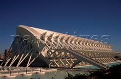 ... in Valencia , Camino de Las Moreras, architect Santiago Calatrava  #SantiagoCalatravaArchitecture Pinned by www.modlar.com