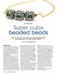 Bead and Button August 2016