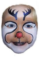 Helen @ Cats Whiskers: Our first Christmas Face Painting jobs of the year and a few new designs