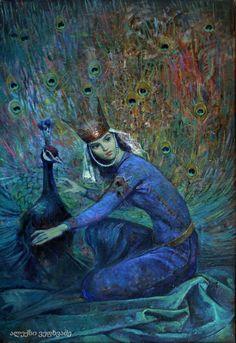 Georgian painter Alex Vepkhvadze