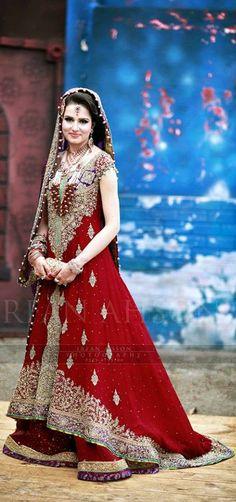 Pakistani wedding, Pakistani fashion, Pakistani bride, #Pakistani dress.  Love Love Love this dress....