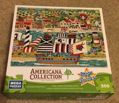 Americana Collection Mega Puzzles 500 pieces The Pirates of St. Augustine #MegaPuzzles