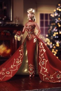 Holiday Gift Barbie® Doll | Barbie Collector