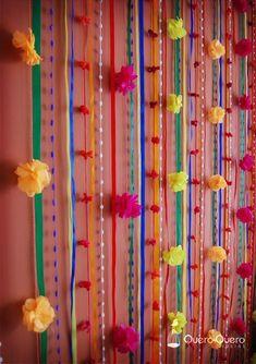 Decoração para Festa Junina/ Julina Reciclar e Decorar - Blog de Decoração e Reciclagem 30th Party, Baby Party, Diy Wedding Decorations, Birthday Decorations, Frida Kahlo Birthday, Mexico Party, Mexican Birthday, Party Rock, Fiesta Party