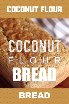 A delicious slice of fresh homemade bread doesnt have to be full of gluten and carbs. This paleo and gluten free Coconut Flour Bread proves it. With this recipe you can enjoy a delicious low carb and keto sandwich anytime you feel like it. Low Carb Recipes, Cooking Recipes, Healthy Recipes, Gluten Free Recipes Videos, Yeast Free Recipes, Healthy Fats, Delicious Recipes, Healthy Eating, Pain Keto