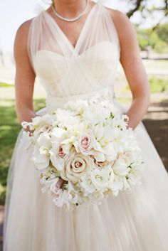 Pale Pink and White Bridal Bouquet | photography by http://www.dianamlottphotography.com/ and http://eclecticimagesphotography.com/ |
