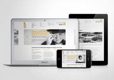 SJ Options. Brand Identity and Website Design by Higher , via Behance