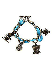Disney Alice In Wonderland Charm Bracelet