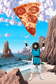 video games food pizza beach waves mortal kombat pizzamania trending #GIF on #Giphy via #IFTTT