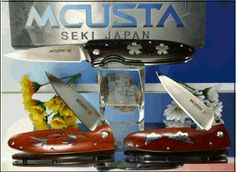 Mcusta Knives, Seiki, Japan