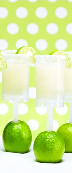 Margarita Push Pops!!