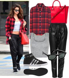 """Look of Selena Gomez"" by antomendoza on Polyvore"