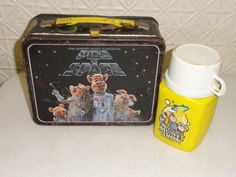 Vintage lunchbox  Pigs in Space. Bought one today. Love.