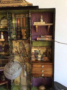 Apothecary Cabinet #graphic45 #rareoddities #decor #halloween