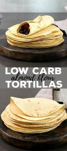 low carb recipes These low carb tortillas are made with just the right blend of almond and coconut flours, and the dough is amazingly easy to handle. With less than 2 net carbs per tortilla, theyre going to be your new favorite gluten free tortilla! Low Carb Pizza, Low Carb Bread, Keto Bread, Low Carb Diet, Calorie Diet, Low Carb Flour, Yeast Bread, Keto Bagels, Bread Mix
