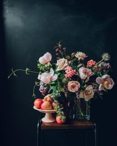 16 best florists to follow for bouquet inspiration: @swallowsanddamsons; Anna Potter's deeply hued feed filled with ultra-romantic bouquets makes us want to scroll forever.                                                                                                                                                     More