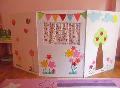 Φτιάξτε το δικό σας παιδικό κουκλοθέατρο εύκολα, γρήγορα και οικονομικά!