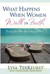 """✞ ♥ ✞ ♥ ✞  Lysa TerKeurst knows what it means to walk by faith. Years ago she uttered the cry: """"How do I take my broken life and allow God to use it for His glory?""""  And  """"Want to learn how to survive life's hardest places"""" ? This book will change the way you recognize God's opportunities for growth and hear God speak through His Word .     ✞ ♥ ✞ ♥ ✞"""