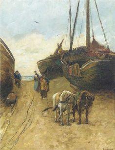 Willem de Zwart, Working amongst the bomschuiten 1905