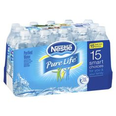 Nestle Pure Life Purified Water 15 pk need to stay hydrated